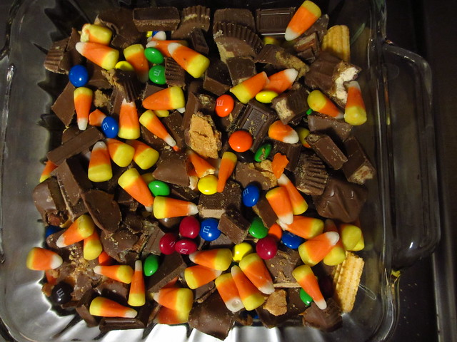 Leftover Candy Pie