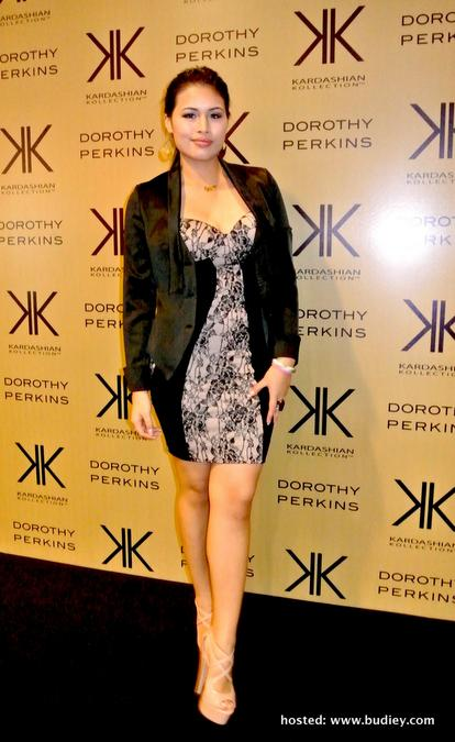 Gambar Amanda Imani di Launch of Kardashian Kollection Dorothy Perkins