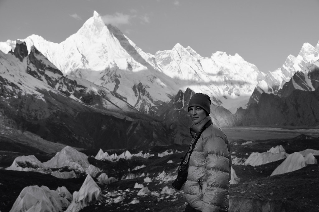 Early morning in Goro II (4250 m), Karakorum