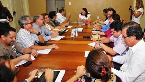 Reunião para Acertos de Transição do Cargo Foto Ronaldo Ferreira (3)