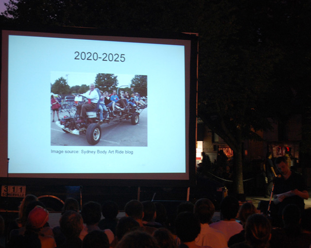 Future planning: Imagine the History of Somerville, 2010-2100
