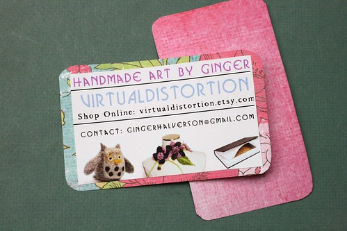 Business Cards ~ Fall 2012