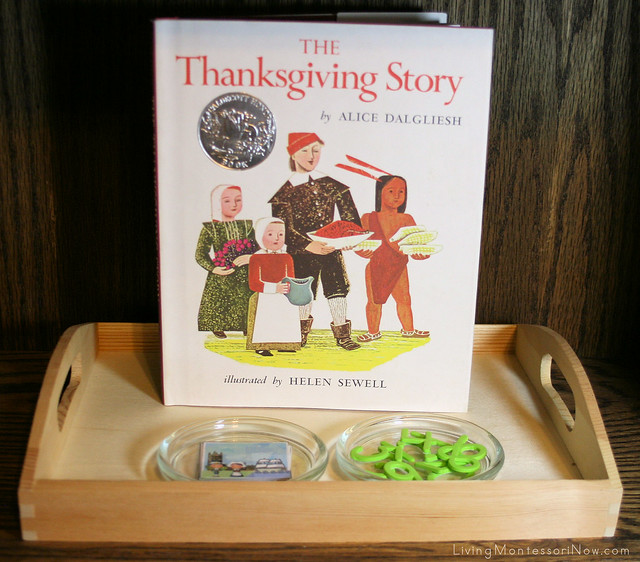 Thanksgiving Story Timeline Activity
