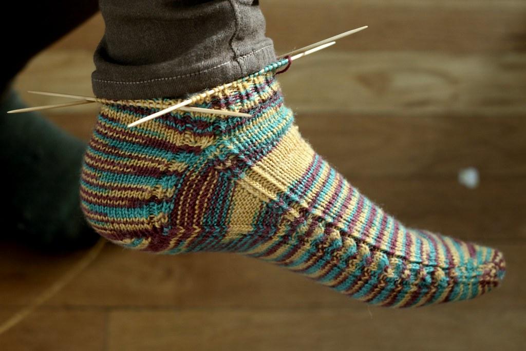 """the """"Brainless"""" sock"""