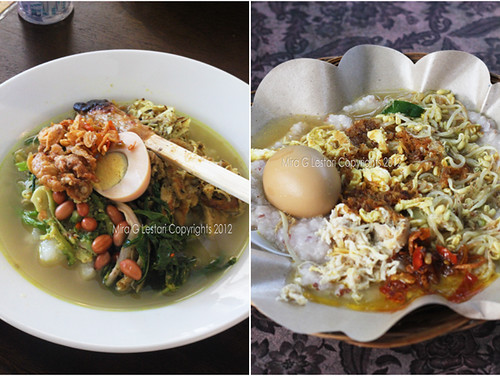 Bubur Bali, versi Resto Khrisna dan versi Lapangan Lumintang