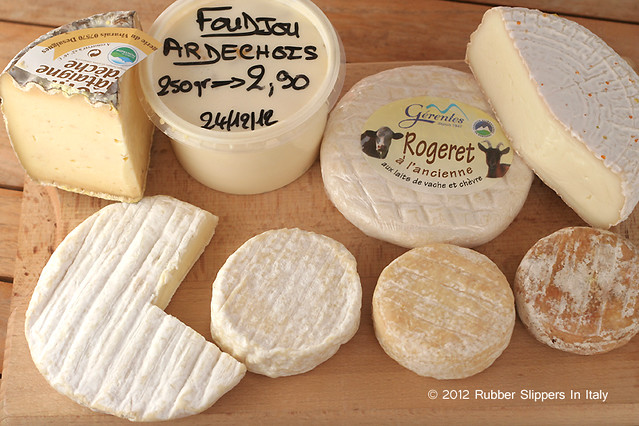 Cheese from Ardeche