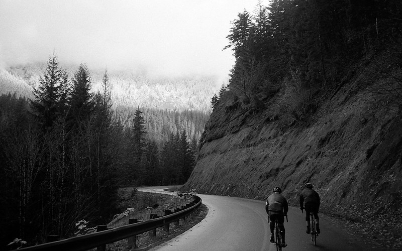 Entrenamiento con bicicleta de carretera