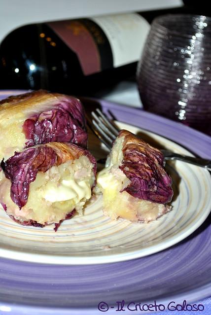 Fagottini di radicchio e patate (2)