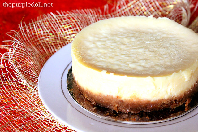 Quezo de Bola Cheesecake Indulgence by Irene