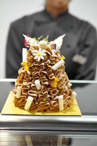 西武池袋本店 クリスマスケーキ セバスチャン・ブイエ モンボーサポン
