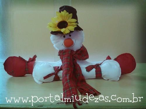 Boneco de Neve by miudezas_miudezas