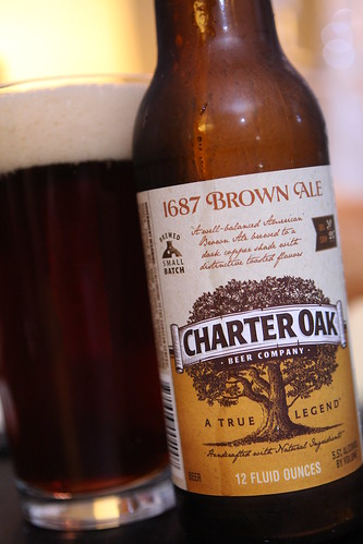 Charter Oak Brewing Company 1687 Brown Ale