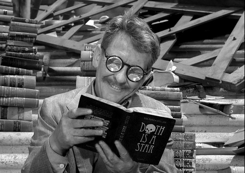 Henry Bemis into the wondrous land of his favorite book...