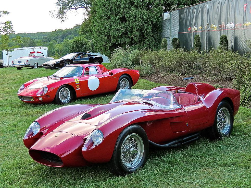 View 1957 Ferrari 250 Testa Rossa Wallpaper  Pics