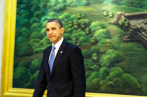 President Obama at the ASEAN-U.S. Leaders' Meeting