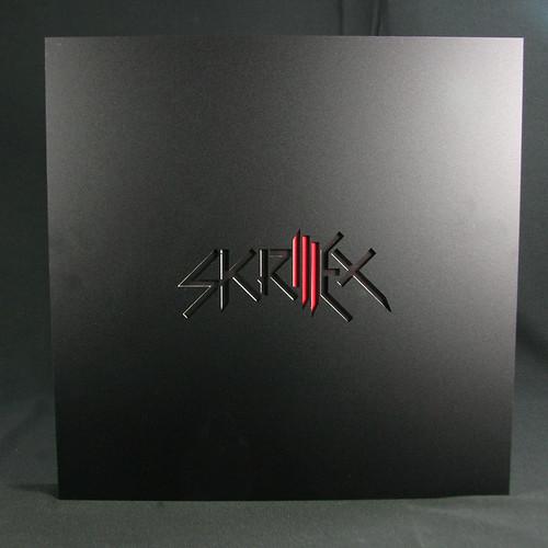 Skrillex 3x180g Lp Box Set With Black Diecut Abs Plastic