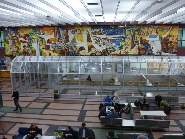 Mural, Gander Airport