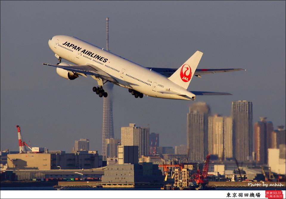 Japan Airlines - JAL / JA8983 / Tokyo - Haneda International