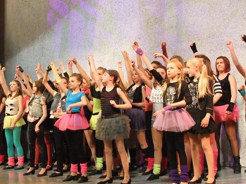 """Rock"": A scene from Edinburgh Gang Show 2012 dress rehearsal. Photo © Michael Walker"