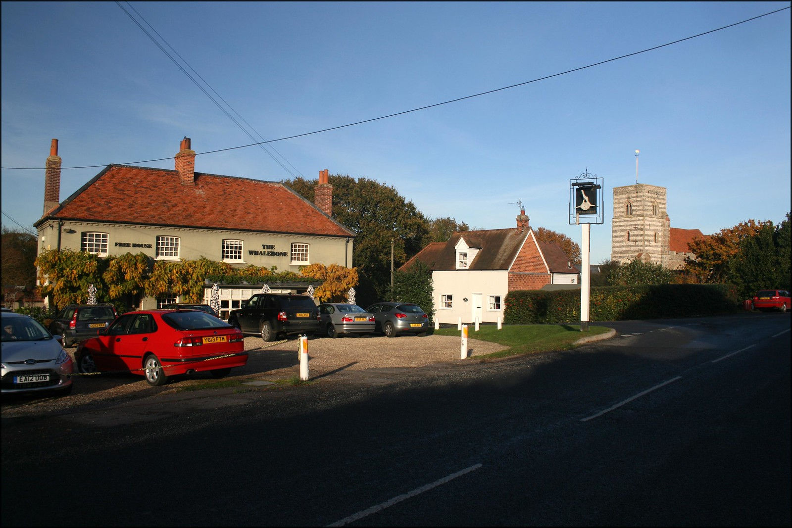 Fingringhoe village
