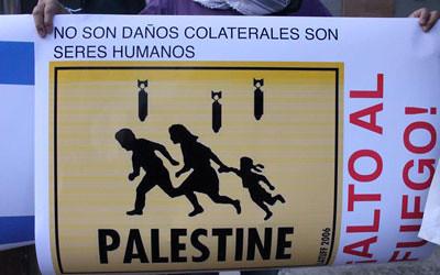 Mexicanos rechazan ataque de Israel a Gaza