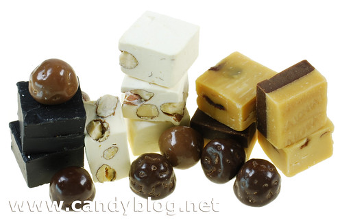 Sockerbit: Polly, Licorice Fudge, Romrussin Fudge, Nougat
