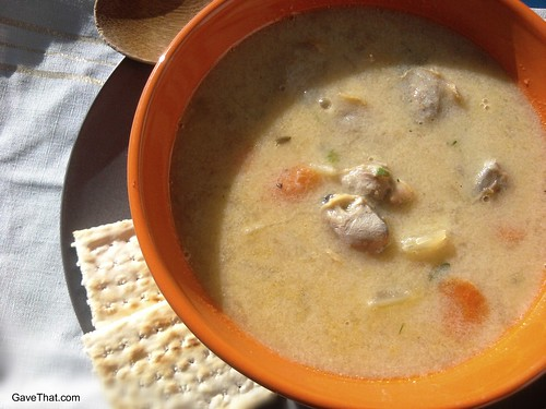 New England Clam Chowder pot luck recipe