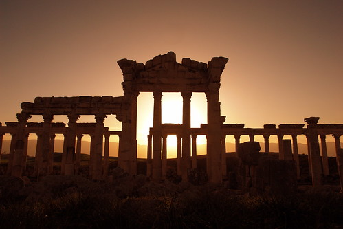 Apamea sunset by CharlesFred