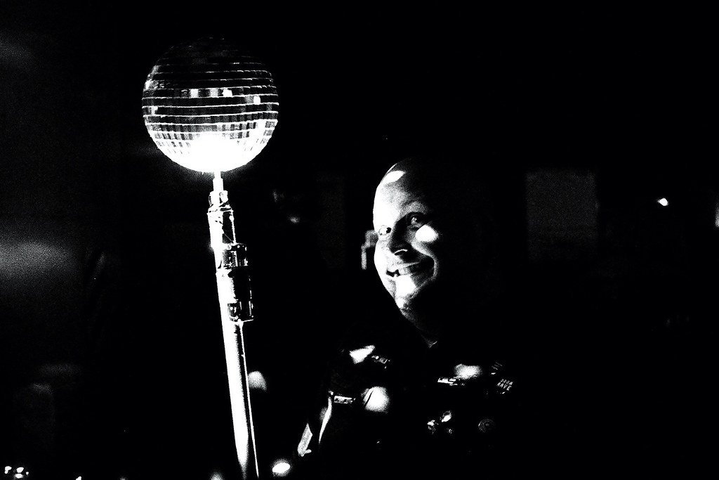 Portable disco ball... Night Market.
