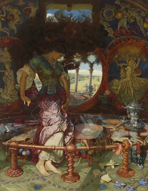 william-holman-hunt-lady-of-shalott-1886-1905