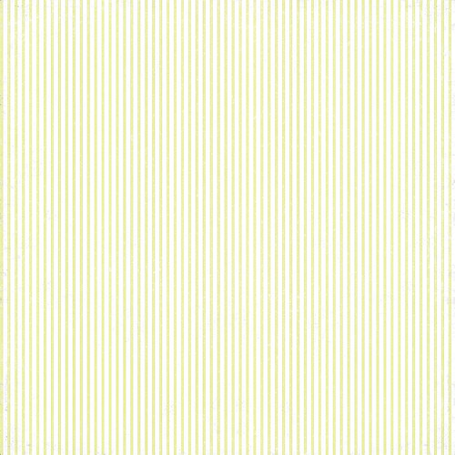 Monochromatic Pin Stripe (chartreuse) paper 12 and a half inch 350 dpi