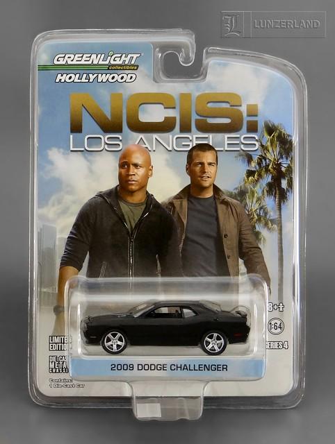 NCIS LOS ANGELES 1:64 scale die cast 2009 DODGE CHALLENGER ...