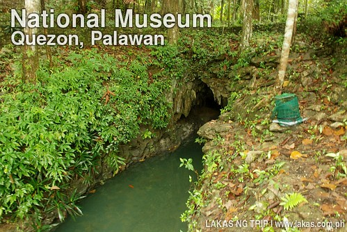 "Mini-""Underground River"" at the National Museum in Quezon, Palawan Branch"