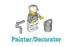 LEGO Minifigures Series 10 -  Painter