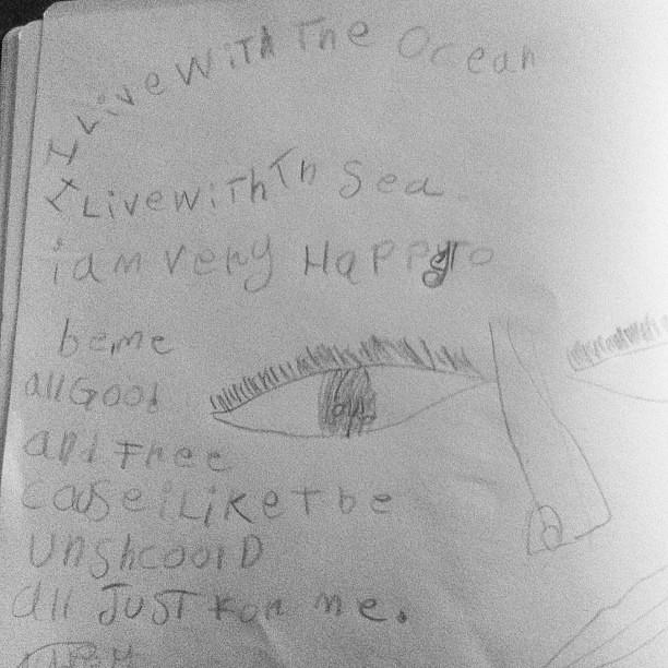 Big Owlet. Poet. #unschooling #poetry #owlets
