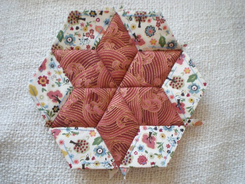 Diamond Patchwork Star