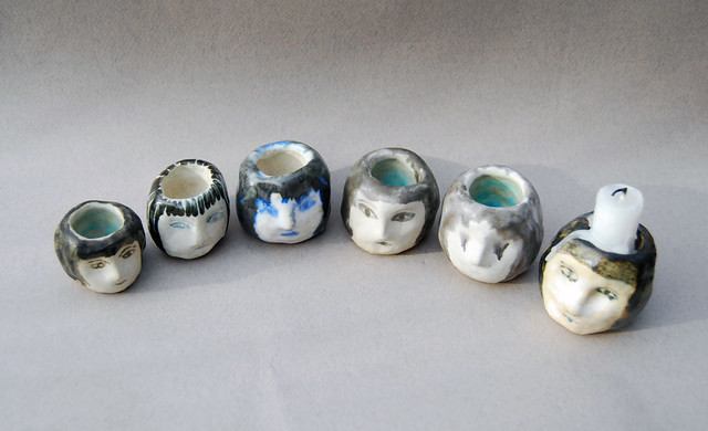 ceramic heads/ working out processes