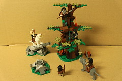 LEGO The Hobbit Attack of the Wargs (79002)