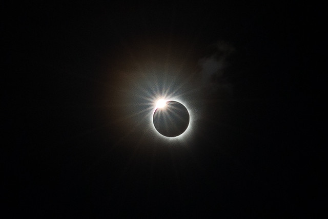 Total Solar Eclipse Diamond Ring