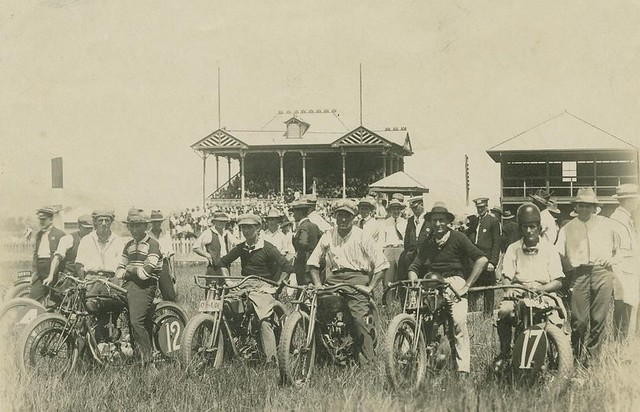 First Meeting Of The Cairns Motor Cycle Club At The Woree Speedway Ca 1930 Flickr Photo