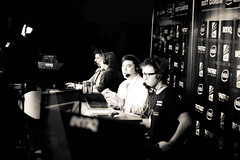 Commentators of Intel Extreme Masters 2012