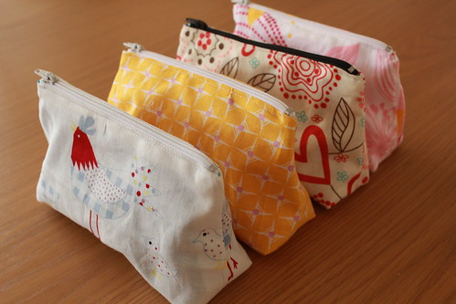 Girly pouches