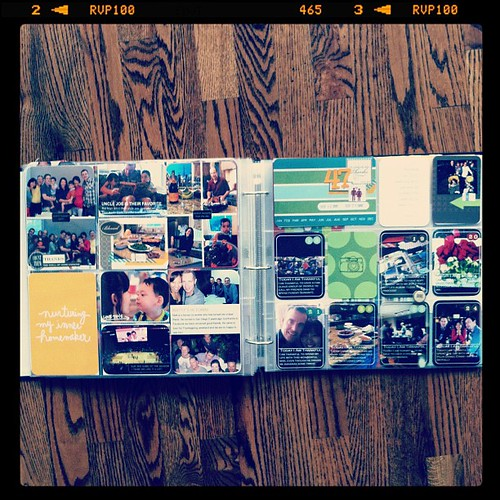 #projectlife week 47 full spread