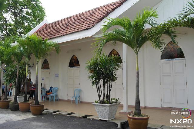 Church of Our Lady Lourdes Klang chapel