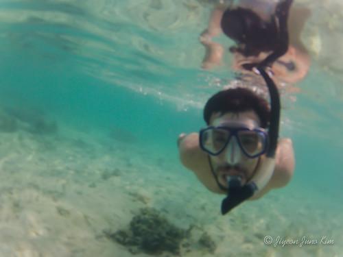 Snorkeling in Linca Island