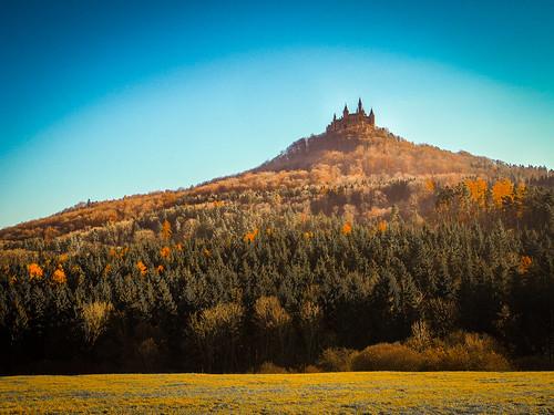 perfect hilltop castle
