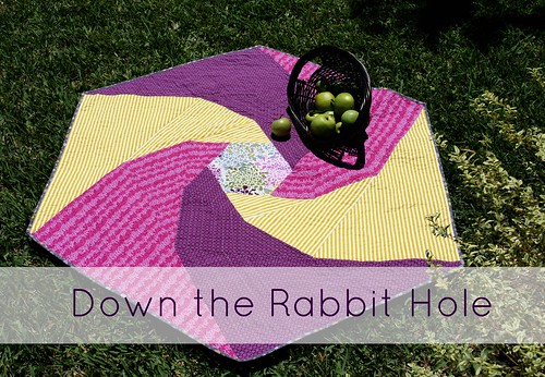Down the Rabbit Hole Quilt Pattern