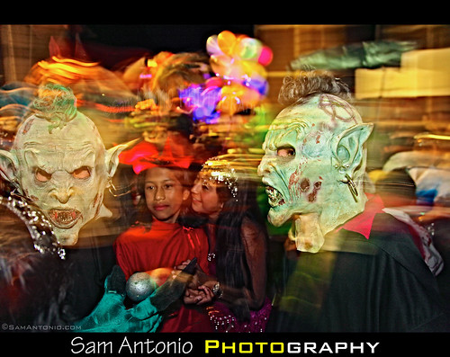 The Dead Come Alive in San Agustin Etla! by Sam Antonio Photography