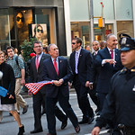 Michael Bloomberg, New York City Veterans Day Parade, 5th Avenue, New York