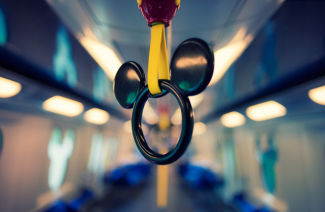 Riding on the Metro - Beautiful Bokeh Photography